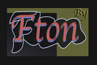 Logo 'By Fton' artiste multimédia
